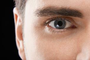 Young Man's Eyeの写真素材 [FYI03641147]