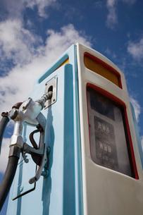 Petrol pump close-upの写真素材 [FYI03641342]
