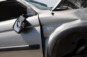 Damaged carの写真素材 [FYI03642653]