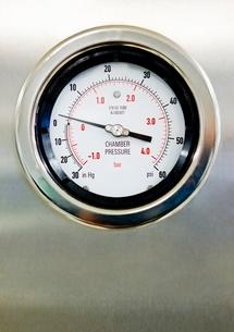 Hospital Pressure Gaugeの写真素材 [FYI03643441]