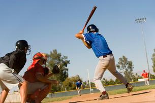 Baseball matchの写真素材 [FYI03647369]