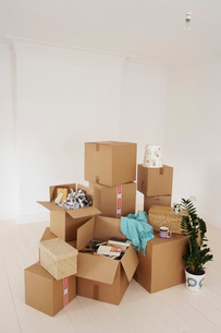 Moving into New Homeの写真素材 [FYI03647491]