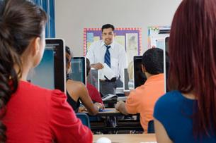 Modern Classroomの写真素材 [FYI03648562]