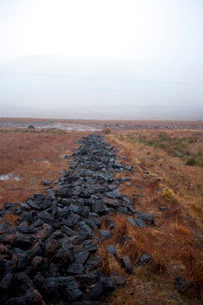 Peat cuttingsの写真素材 [FYI03648992]