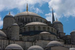 Blue Mosque, Istanbulの写真素材 [FYI03649326]