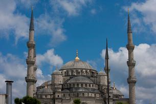 Blue Mosque, Istanbulの写真素材 [FYI03649331]