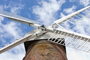 Close-Up of British Windmillの写真素材 [FYI03649359]
