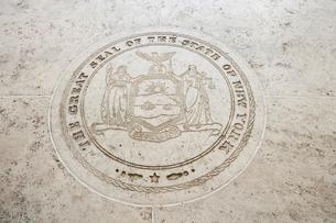 Seal of New York in Fort Bonifacio, Manila, Philippinesの写真素材 [FYI03649908]