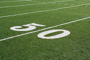 Detail of American Football Groundの写真素材 [FYI03650096]