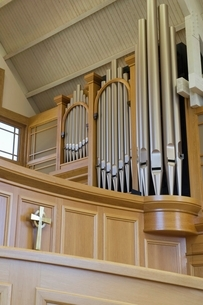 Modern church interiorの写真素材 [FYI03650649]