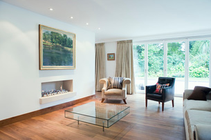 Modern Living roomの写真素材 [FYI03650701]