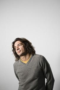 Mid-adult man portraitの写真素材 [FYI03650719]