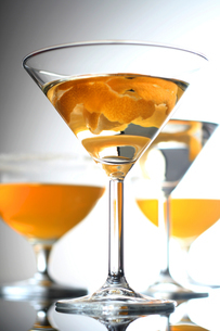 Close up of drink in martini glassの写真素材 [FYI03653768]