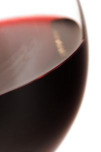 Close-up of glass with red wineの写真素材 [FYI03654072]