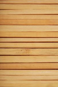 Wooden mat close-up - textureの写真素材 [FYI03654150]