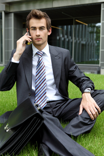 young caucasian businessmanの写真素材 [FYI03655374]