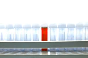 Blood sample test tubeの写真素材 [FYI03657865]