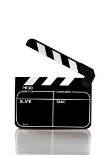 Clapper boardの写真素材 [FYI03657868]