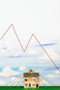 Property Market Crashの写真素材 [FYI03657935]