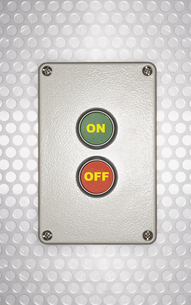 On Off Switchの写真素材 [FYI03657964]