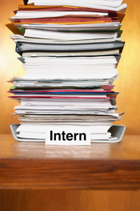 Overflowing Inbox of an internの写真素材 [FYI03658028]