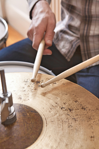 Playing Drumsの写真素材 [FYI03658053]