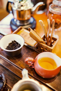 Tea preparationの写真素材 [FYI03682139]