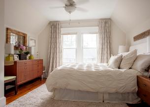 Interior of bedroomの写真素材 [FYI03689185]