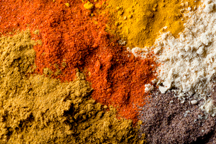 Full frame shot of spicesの写真素材 [FYI03691785]