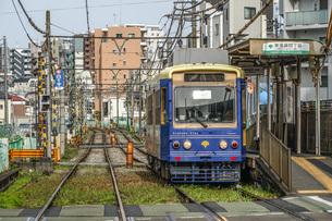 都電荒川線のイメージの写真素材 [FYI03726179]
