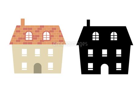 家のイラストセットのイラスト素材 [FYI03746604]