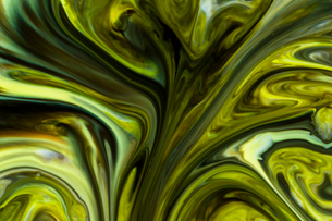 Macro shot of abstract backgrounds of colors, milk and dishwashing liquidの写真素材 [FYI03747305]