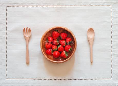 イチゴの写真素材 [FYI03748946]