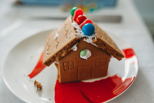 Gingerbread Houseの写真素材 [FYI03756101]