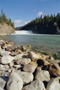 Rocky Mountains, Banff, Alberta, Canadaの写真素材 [FYI03759859]