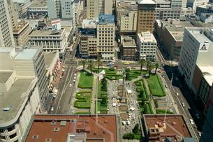 Union Square area, San Franciscoの写真素材 [FYI03759876]