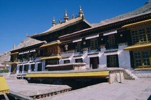 Sera monastery, outside Lhasa, Tibetの写真素材 [FYI03760000]