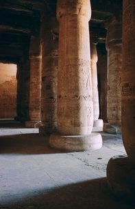Temple of Sethos I, Abydosの写真素材 [FYI03760017]