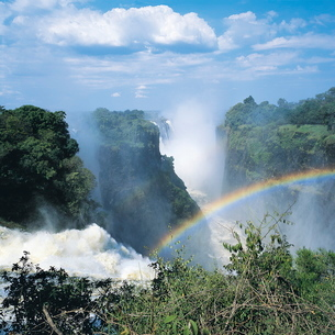 Victoria Falls, Zimbabweの写真素材 [FYI03760046]
