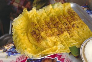 Omelettes, Ho Chi Minh City (formerly Saigon), Vietnam, Indochina, Southeast Asiaの写真素材 [FYI03760138]