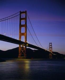 Golden Gate Bridge, San Francisco, California, USA'の写真素材 [FYI03760229]