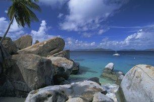 The Baths, Virgin Gorda, British Virgin Islands, Caribbeanの写真素材 [FYI03760255]