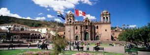 Christian cathedral, Cuzco (Cusco), Peruの写真素材 [FYI03760304]