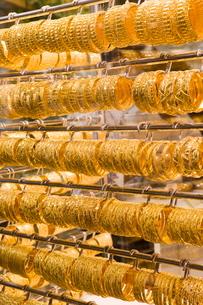 Gold Souk, Deira, Dubai, United Arab Emirates, Middle Eastの写真素材 [FYI03760406]
