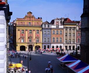 Town Square, Poznan, Polandの写真素材 [FYI03760475]