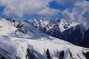Cis Tien Shan Range Near Lake Issykkul, Kyrgyzstanの写真素材 [FYI03760513]
