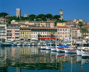 Cannes, Alpes-Maritimes, Cote d'Azur, French Rivieraの写真素材 [FYI03760673]