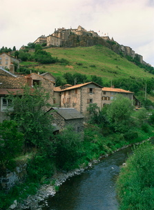 St. Flour, Cantal, Auvergneの写真素材 [FYI03760714]