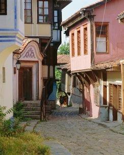 Old town of Plovdin, Bulgariaの写真素材 [FYI03760768]