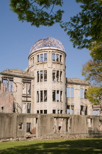 Atomic bomb Dome, Hiroshima, Japanの写真素材 [FYI03760841]